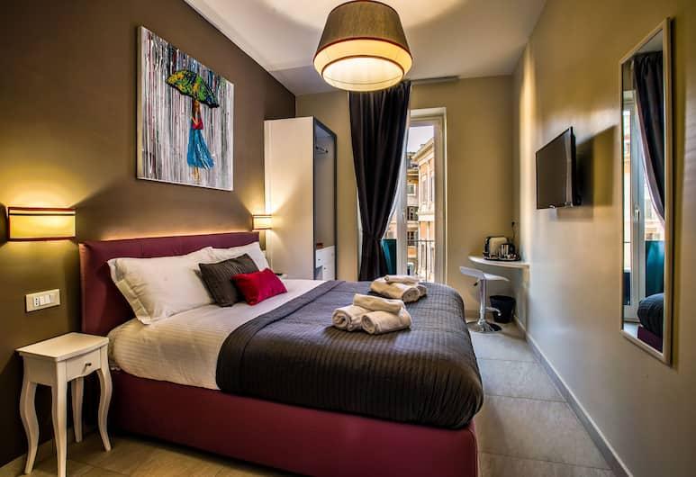 Guest House Grazioli, Rome, Deluxe tweepersoonskamer, voor 1 persoon, Kamer
