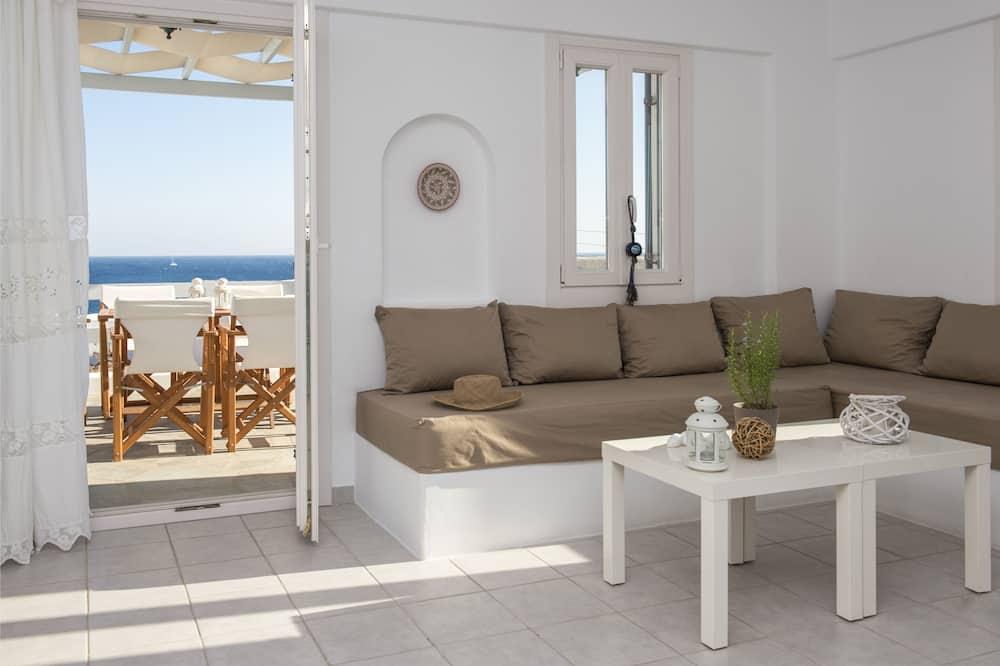 Family Apartment, 3 Bedrooms, Sea View (Zeus) - Interior Detail