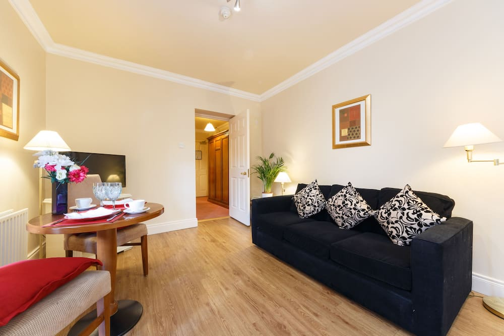 Deluxe Apart Daire, 1 Yatak Odası, Küçük Mutfak - Odada Yemek Servisi