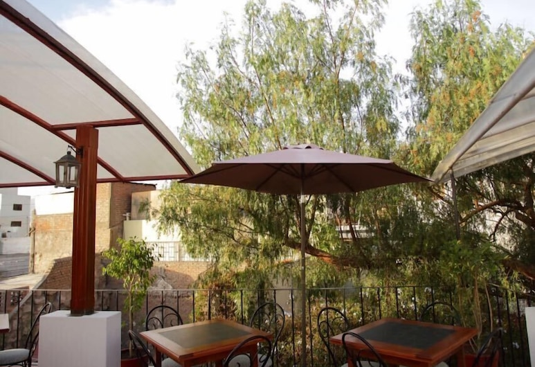 El Patio de Elisa, Arequipa, Terrasse/Patio