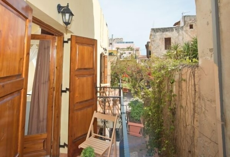 Katerina Traditional Rooms, Χανιά, Δίκλινο Δωμάτιο (Double), Μπαλκόνι, Θέα δωματίου