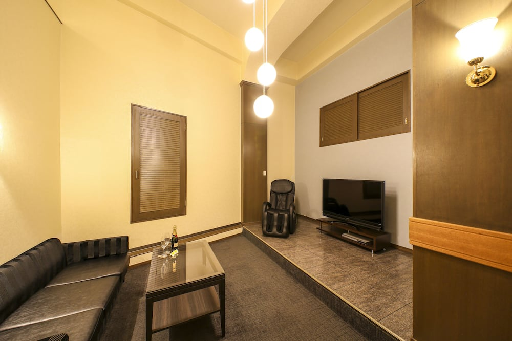 Стандартний двомісний номер, для курців (Love Hotel) - Living Area