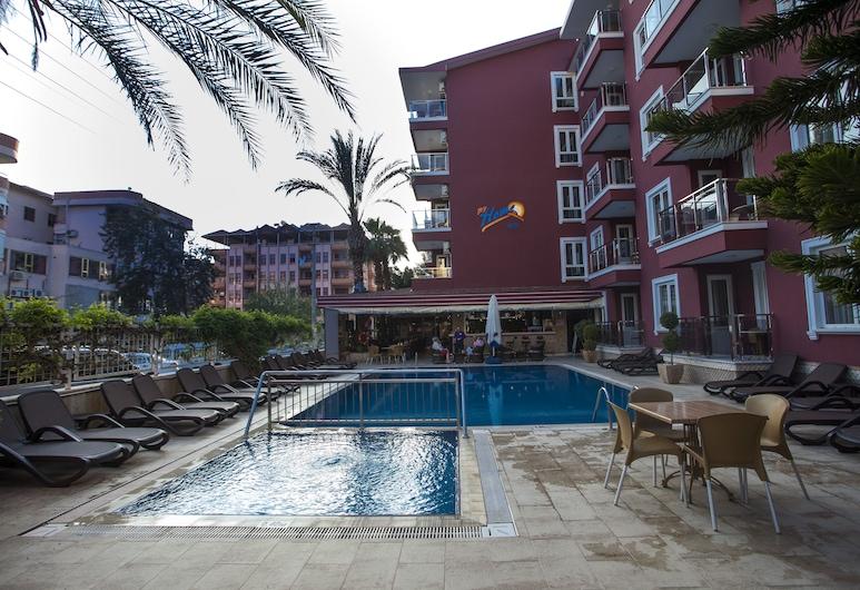 My Home Apart Hotel, Alanya, Venkovní bazén
