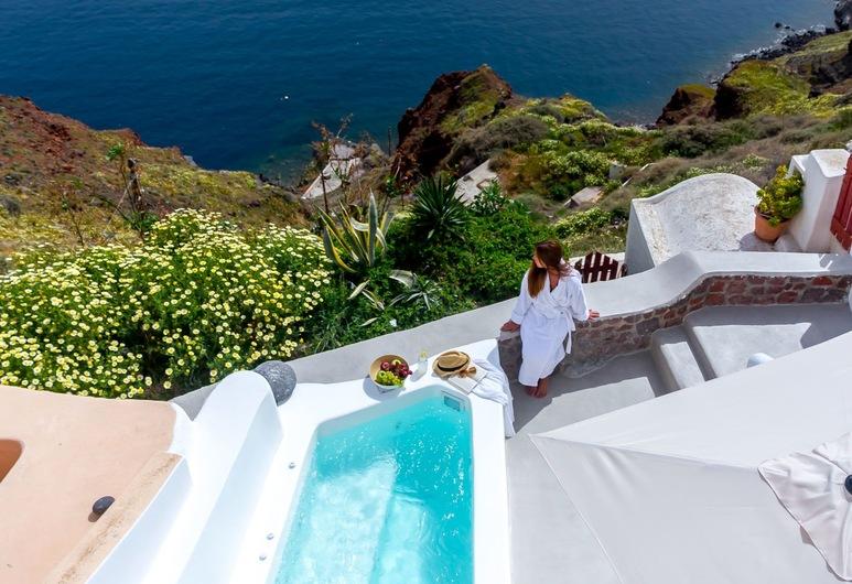 Cleo's Dream Villa, Thira, Výhľad z výšky
