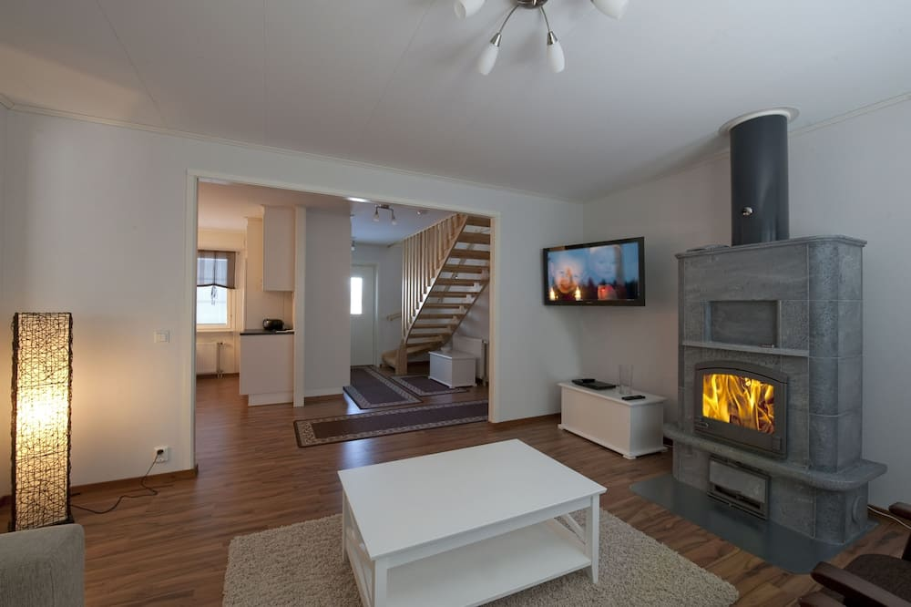 Villa, 4 habitaciones, sauna - Sala de estar
