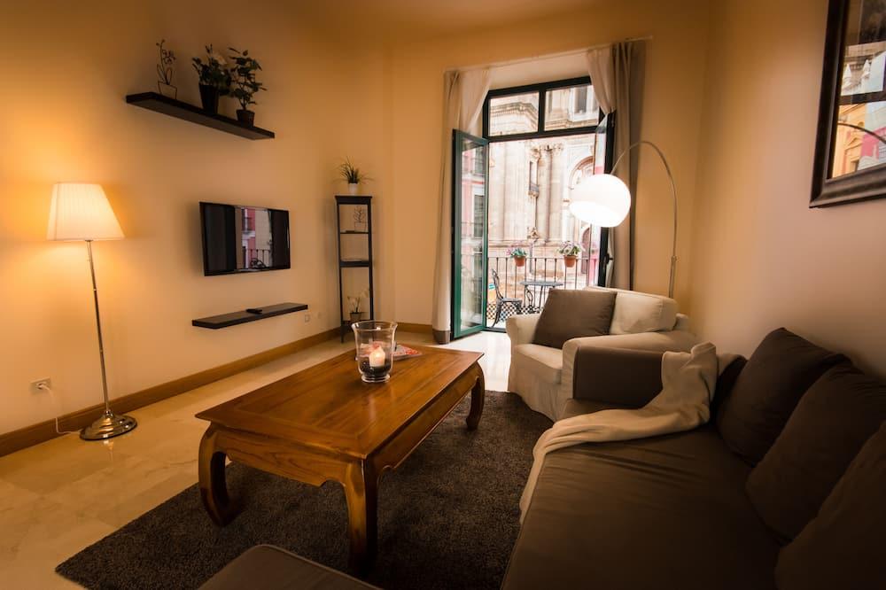 Apartmán, 2 spálne, balkón, výhľad na mesto (Catedral) - Izba