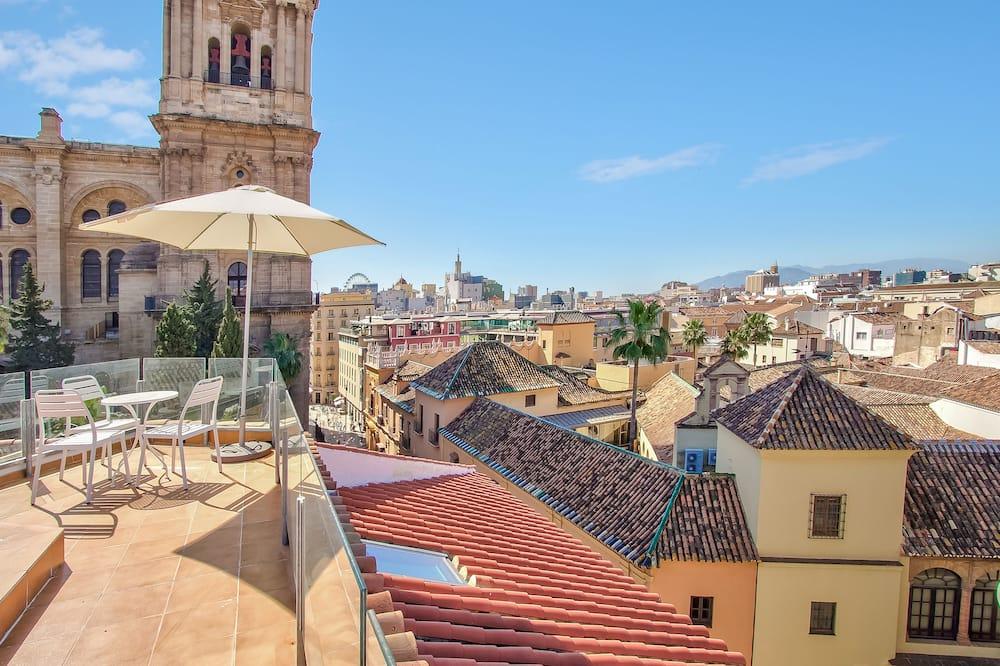Apartmán s panoramatickým výhľadom, 2 spálne, terasa (Vistas a la Catedral) - Terasa