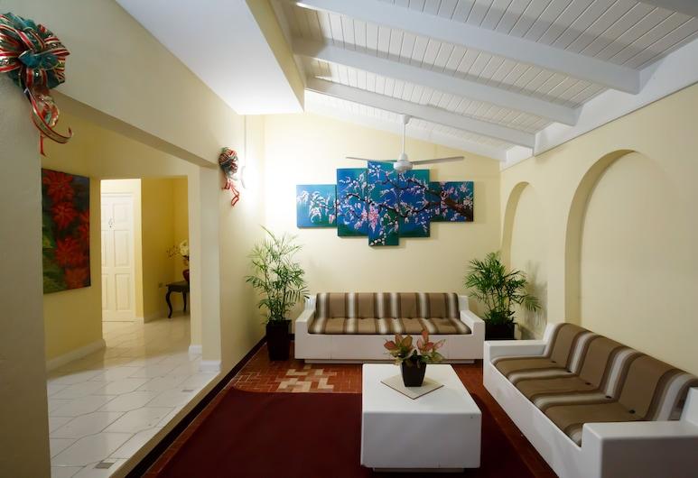 Jasmine Inn, Kingston, Sitzecke in der Lobby