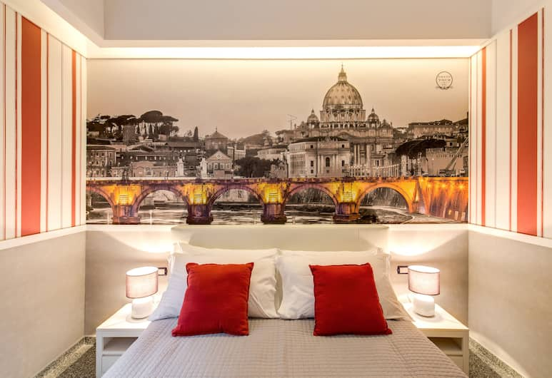 Grand Tour Roma Guest House, Rome, Deluxe Double Room, Guest Room