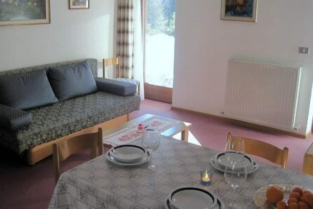Huoneisto, 1 makuuhuone (Pelmo) - Ruokailu omassa huoneessa