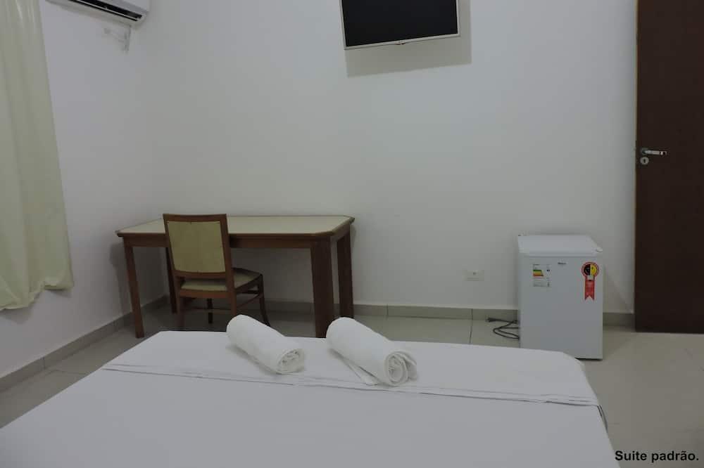 ห้องดีลักซ์สวีท, เตียงใหญ่ 1 เตียง - ตู้เย็นขนาดเล็ก