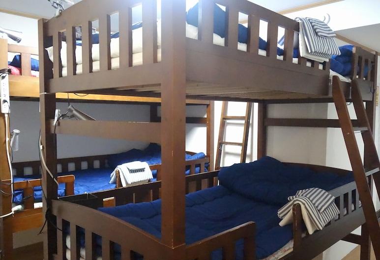 Guest House Carpe Hiroshima Koi - Hostel, Hirošima, Spoločná zdieľaná izba, spoločná izba pre mužov aj ženy, nefajčiarska izba, Hosťovská izba