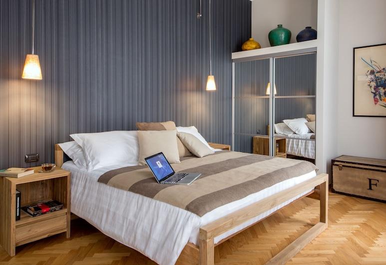 西斯蒂納 QT 套房公寓酒店, 羅馬, 豪華套房, 露台, 客房景觀
