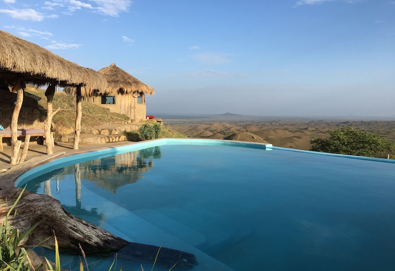 Original Maasai Lodge - Africa Amini Life, Arusha, Basen naturalny