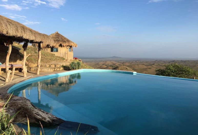 Original Maasai Lodge - Africa Amini Life, Aruša, Gamtinis baseinas