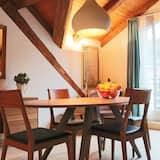 Suite Luxe, 2 chambres, cheminée, vue fleuve - Salle de séjour