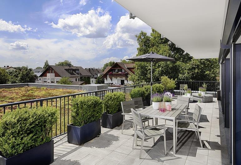 MLOFT Apartments München, München, Business külaliskorter, 3 magamistoaga, terrass (6 Adults), Terrass