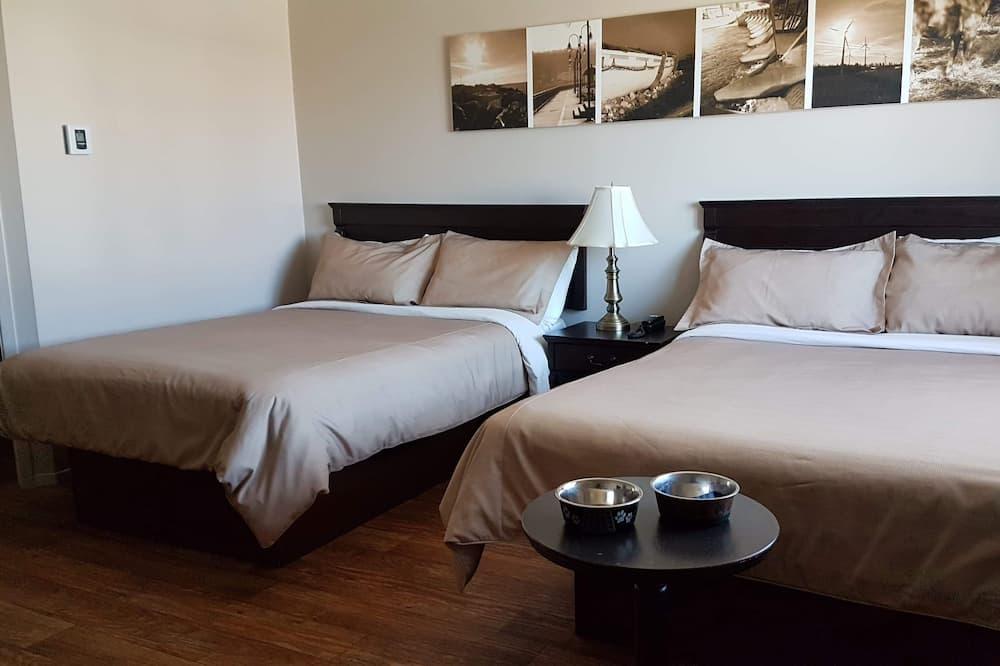 Economy-Zimmer, 2Queen-Betten - Zimmer