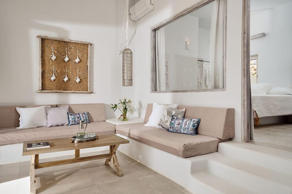 Superior Apartment, 1 Bedroom - Living Area