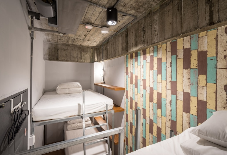 米尼旅店, 台北市, 基本四人房, 1 間臥室, 共用浴室, 客房