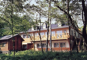 Karuizawa bölgesindeki Pension and Log Cottage Hoshinoko resmi