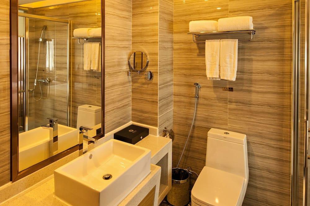 Verslo klasės dvivietis kambarys (2 viengulės lovos) - Vonios kambarys