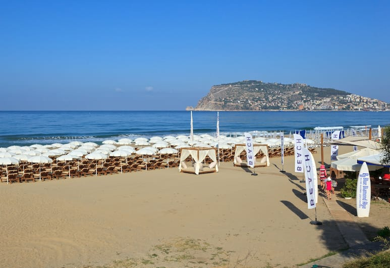 Blue Diamond Alya Hotel - All Inclusive, Alanya, Plaj