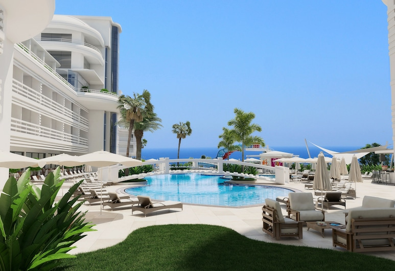 Laguna Beach Alya Resort & SPA - All Inclusive, Alanya, Piscina Exterior