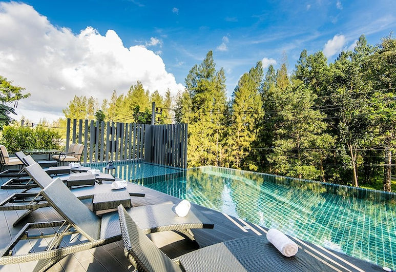 Hill Myna Condotel, Choeng Thale, Outdoor Pool