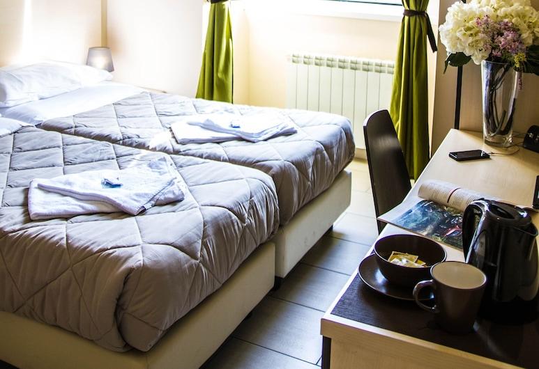 馬賽克旅館, 羅馬, 雙人或雙床房, 客房