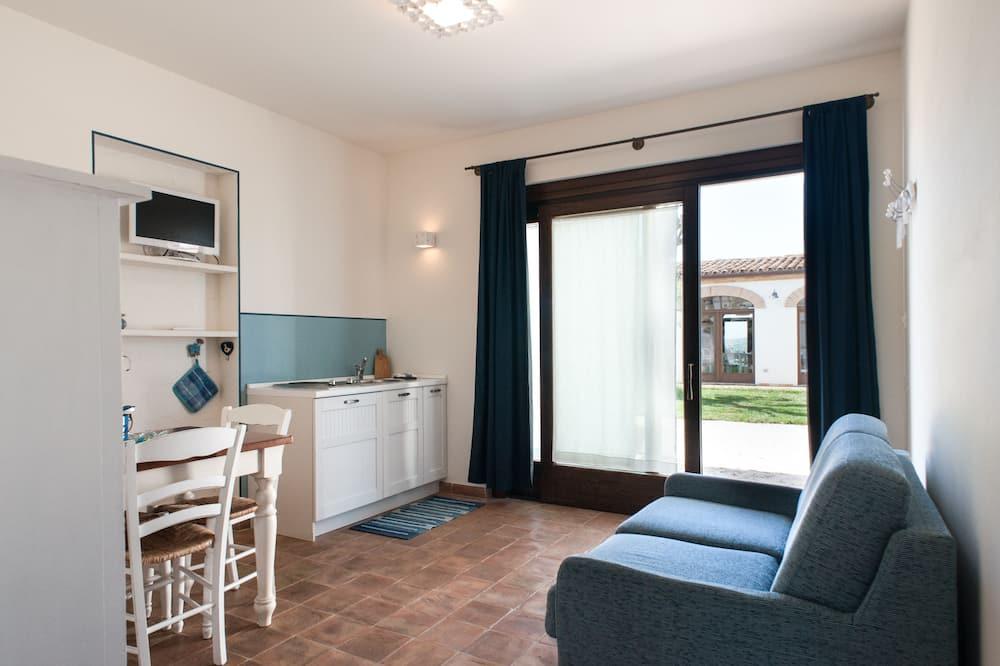 Comfort-lejlighed (3 pax - Lobelia) - Opholdsområde