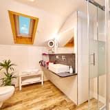Superior tweepersoonskamer, uitzicht op bergen, Uitzicht op gebergte - Badkamer