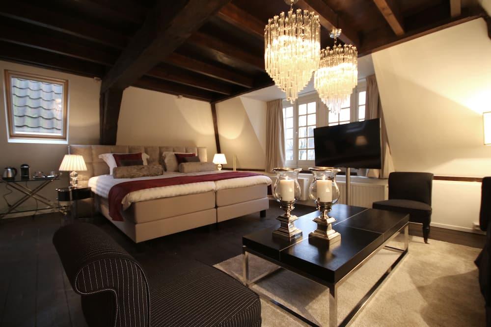 Номер-люкс категорії «Superior», 1 ліжко «кінг-сайз», ванна - Житлова площа