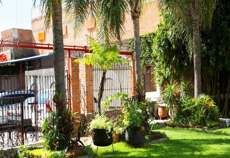 Hotel Vitorina, Atlixco, Jardín