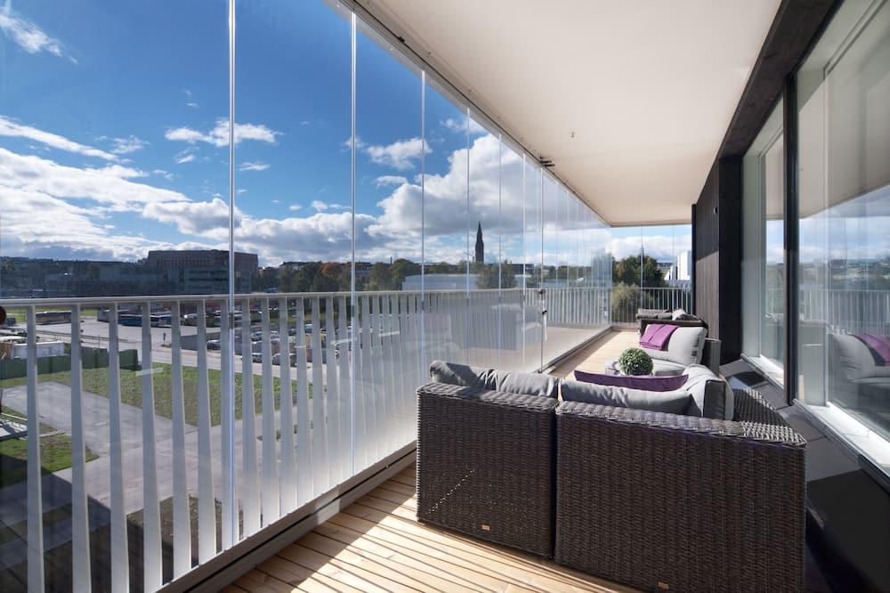Appartamento Deluxe, 2 camere da letto, balcone - Terrazza/Patio