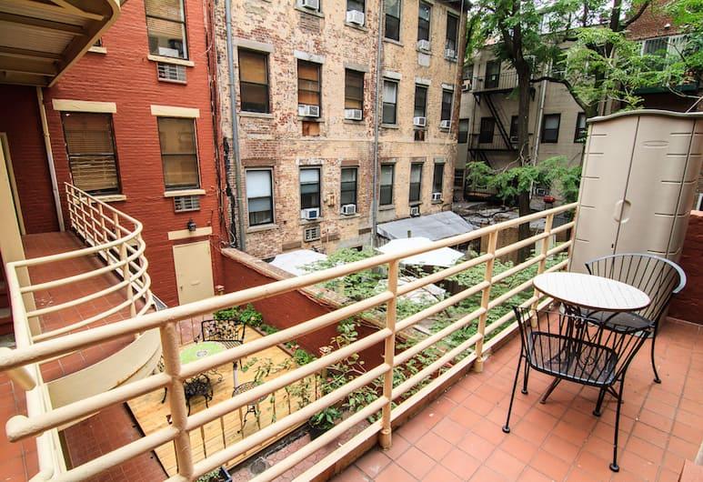 Superior Gramercy Apartments, New York, Balkon