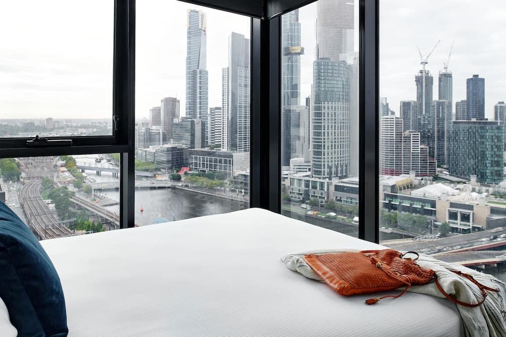 Superior Two Bedroom Apartment - Vista do quarto