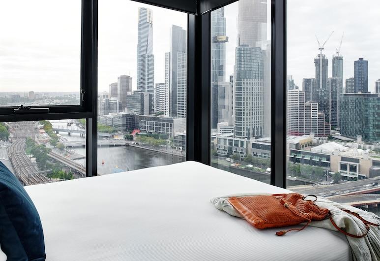 Punthill Northbank, Melbourne, Superior Two Bedroom Apartment, Vista do quarto