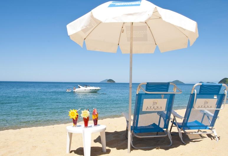 Atena Praia Hotel, San Sebastiaunas, Paplūdimys