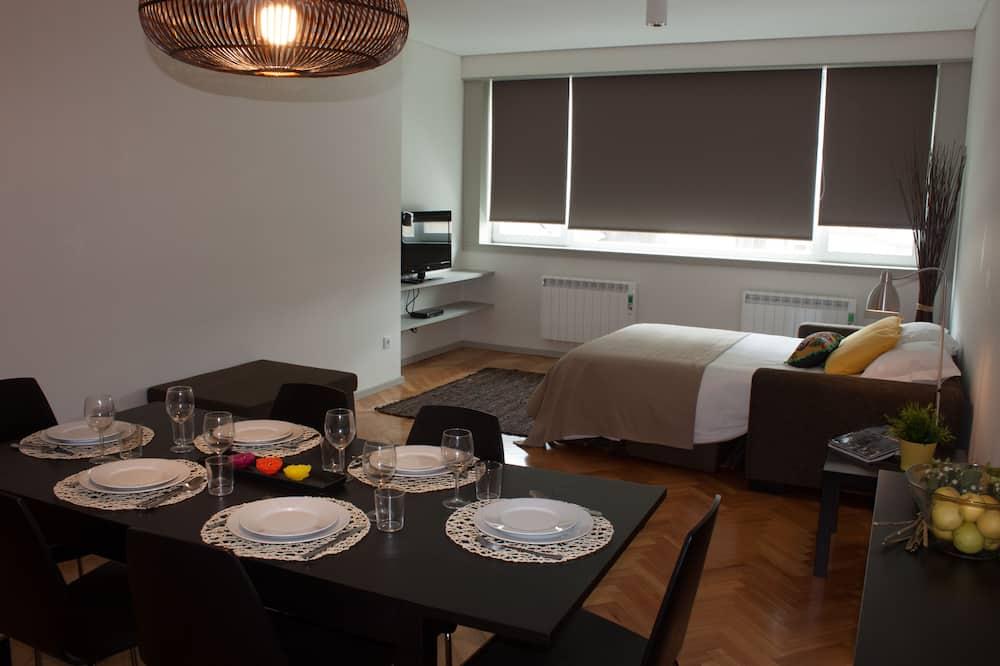公寓, 1 間臥室 - 客房內用餐