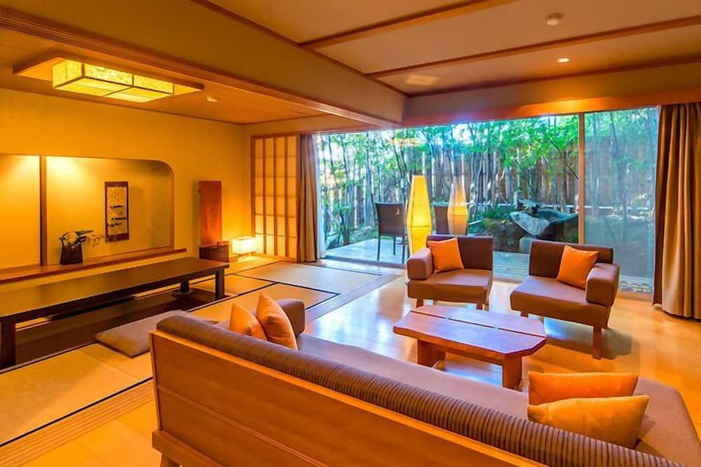 Suite (Japanese Style, Modern, Open Air Bath) - Bilik Rehat
