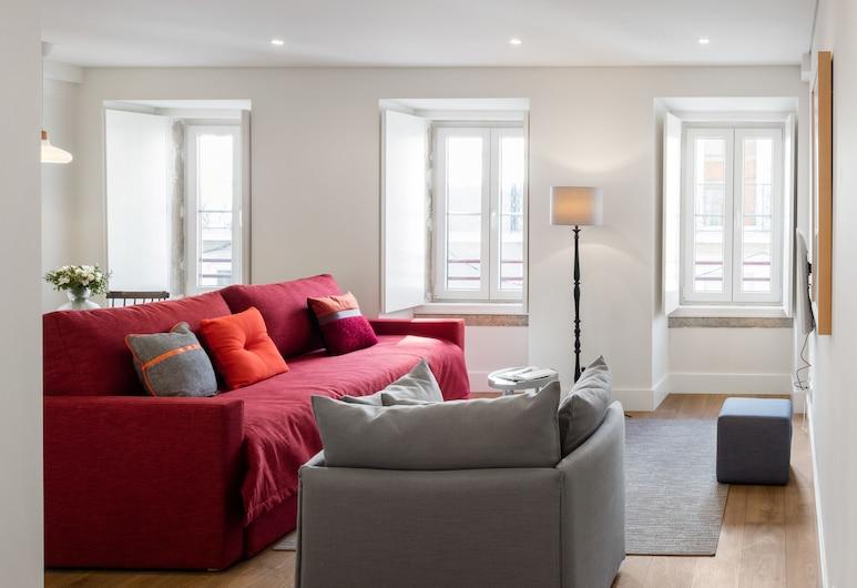 Lisbon Serviced Apartments Bairro Alto, Lisboa, Suite estudio Deluxe, Habitación