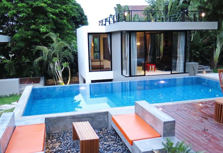 小馬山別墅酒店, 蘇梅島, 室外泳池