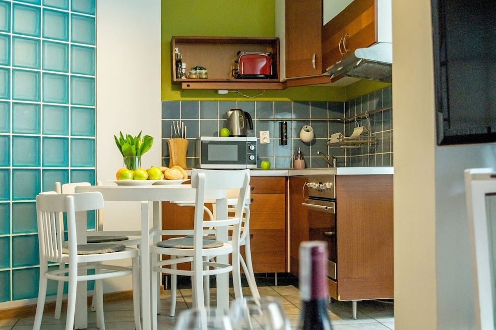 Superior Apartment, 1 Bedroom (4 people) - Ruang Tamu
