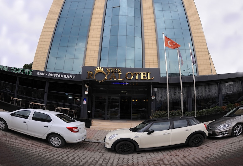 Nice Royal Otel, Istanbul, Hotel Front