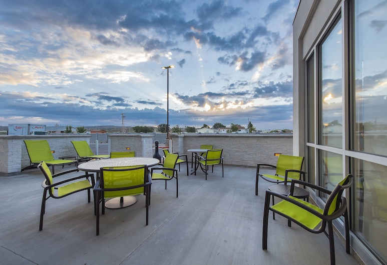 SpringHill Suites by Marriott Gallup, Gallup, Terrasse/Patio