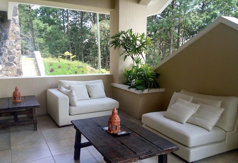 Casa Imperial Coban, Santa Cruz Verapaz, Suite Deluxe, 1 habitación, vistas a la montaña, Terraza o patio