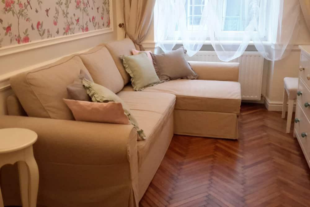 Deluxe-Apartment, 1 Schlafzimmer - Wohnzimmer