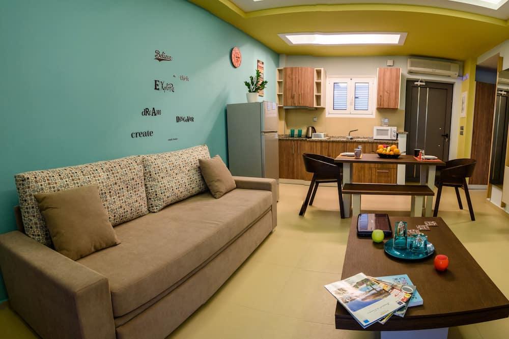Apartmán typu Executive - Obývací pokoj