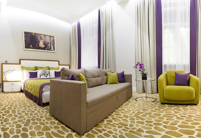Mirax Sapphire Boutique Hotel, Kharkiv, Pokój dla 2 osób Superior, Widok z pokoju